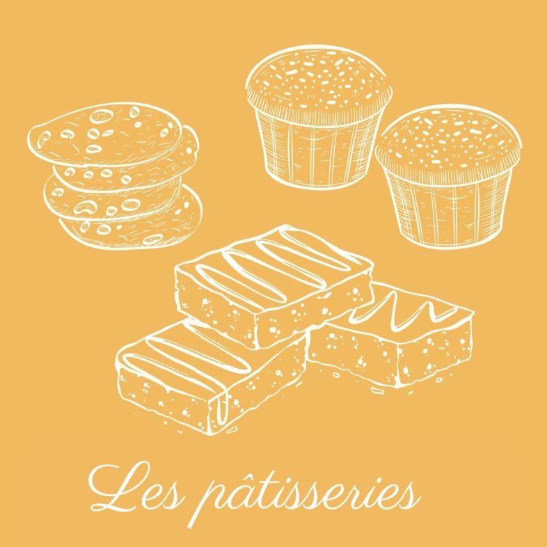 Les pâtisseries Baltoro