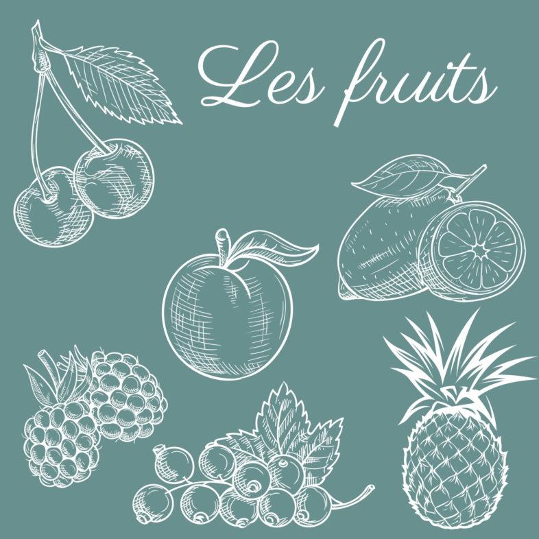 Les fruits des sorbets Baltoro
